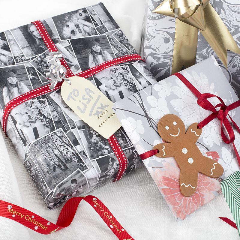 Papel de regalo personalizado