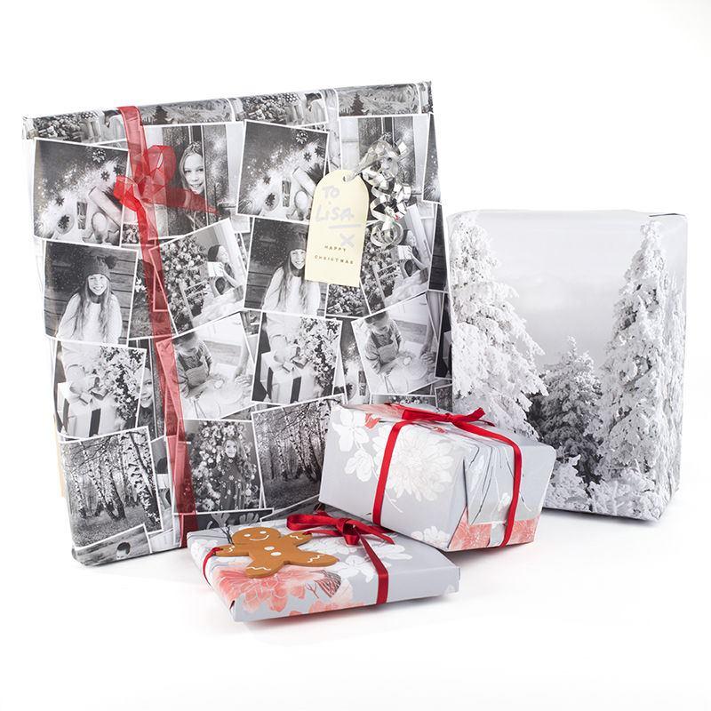 Super Papier cadeau personnalisé avec vos photos | Idée Cadeau Photo SX66