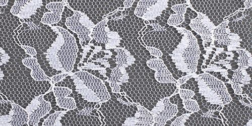 surface of english lace fabric