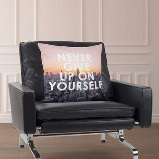 Fotokudde med inspirerande citat