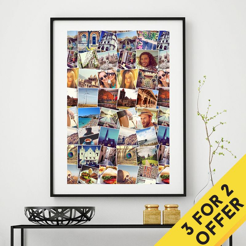 Poster board photo prints