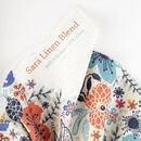 Sara Linen Look fabric printing