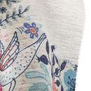 print Linen look fabric