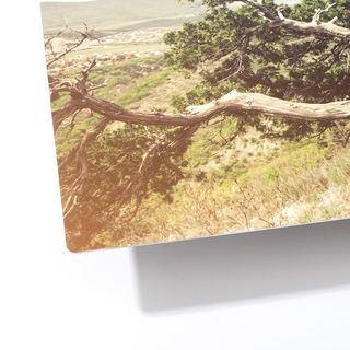 dettaglio angolo stampa su alluminio
