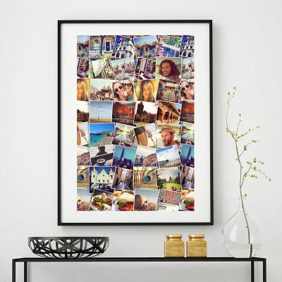 póster collage de fotos