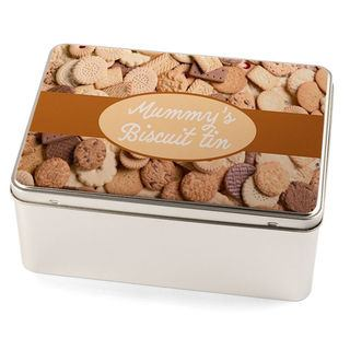 Biscuit tin personalised print