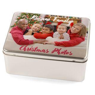 photo gift tin