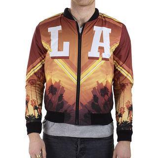 LA style custom bomber jacket