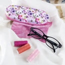 Etui à lunettes rigide imprimé