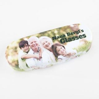 Photo and Text Glasses case