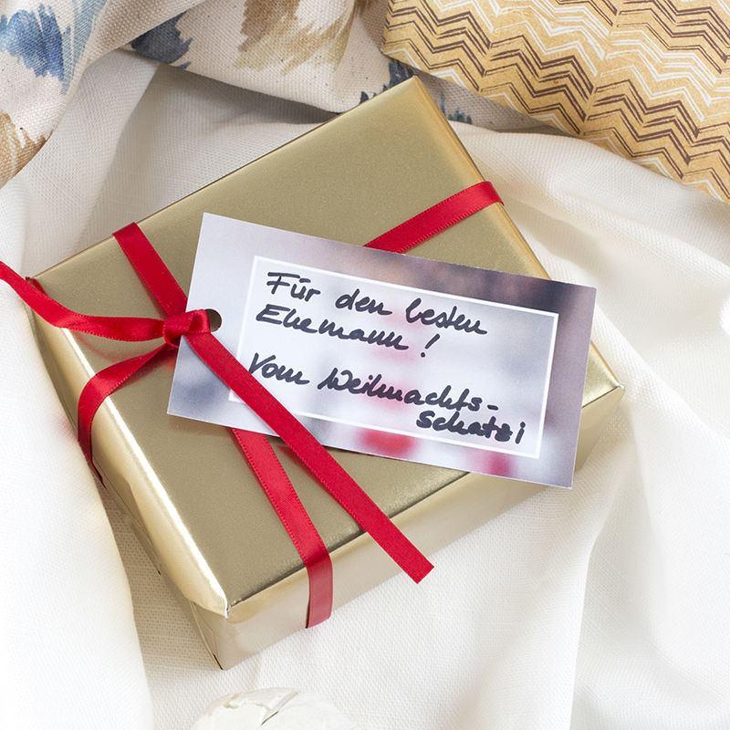 geschenk etiketten selbst gestalten foto etiketten im. Black Bedroom Furniture Sets. Home Design Ideas