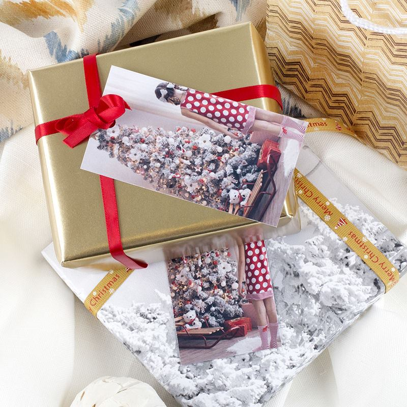 geschenk etiketten selbst gestalten foto etiketten im 20er pack. Black Bedroom Furniture Sets. Home Design Ideas