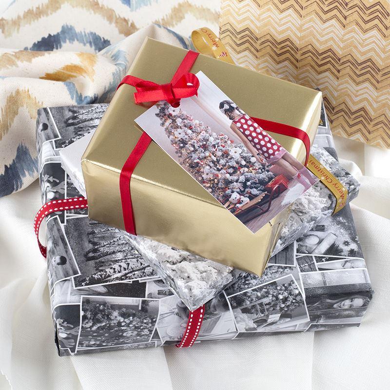 étiquettes imprimées cadeaux