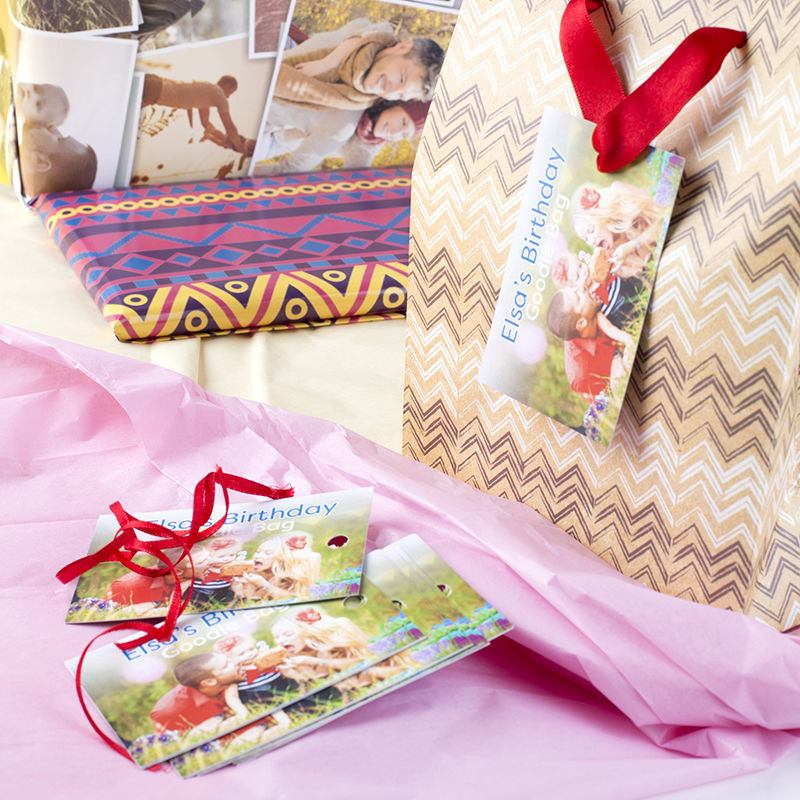 Create your own printable present tags