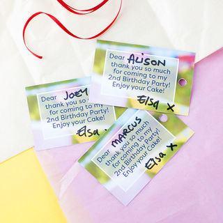 Custom printable gift tags for you