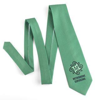 cravatte slim personalizzate con logo
