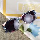 flower print custom sunglasses