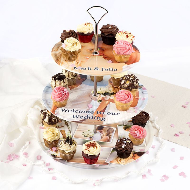 Afternoon Tea Cake Stand Paper
