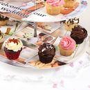 photo cake stand