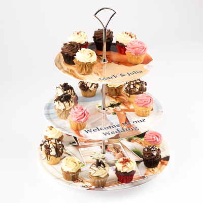 Présentoir à gâteaux personnalisé