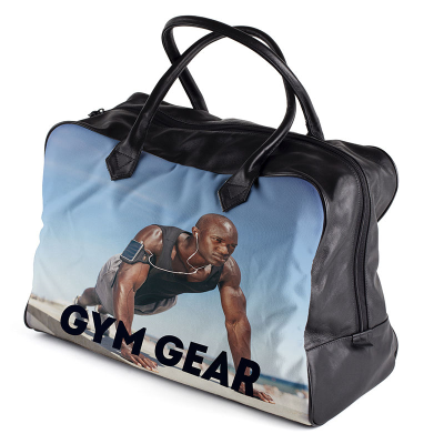 personalised  gym bag made to order
