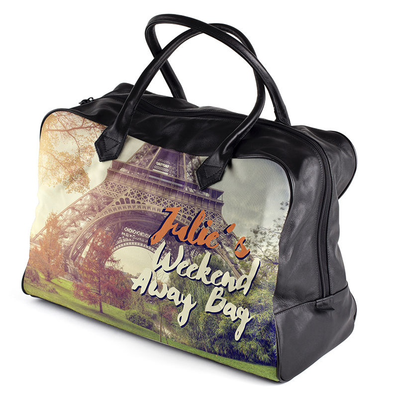 Personalized Overnight Bag Design Your Custom Weekender