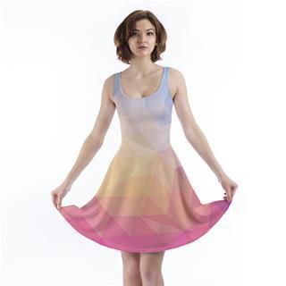 custom skater dress unique shape