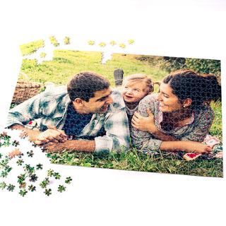 1000 piece jigsaw photo family picnic