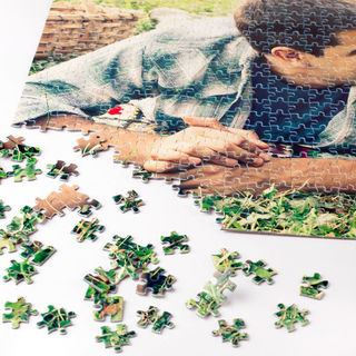 Fotopuzzle bedrucken lassen mit Urlaubsfoto