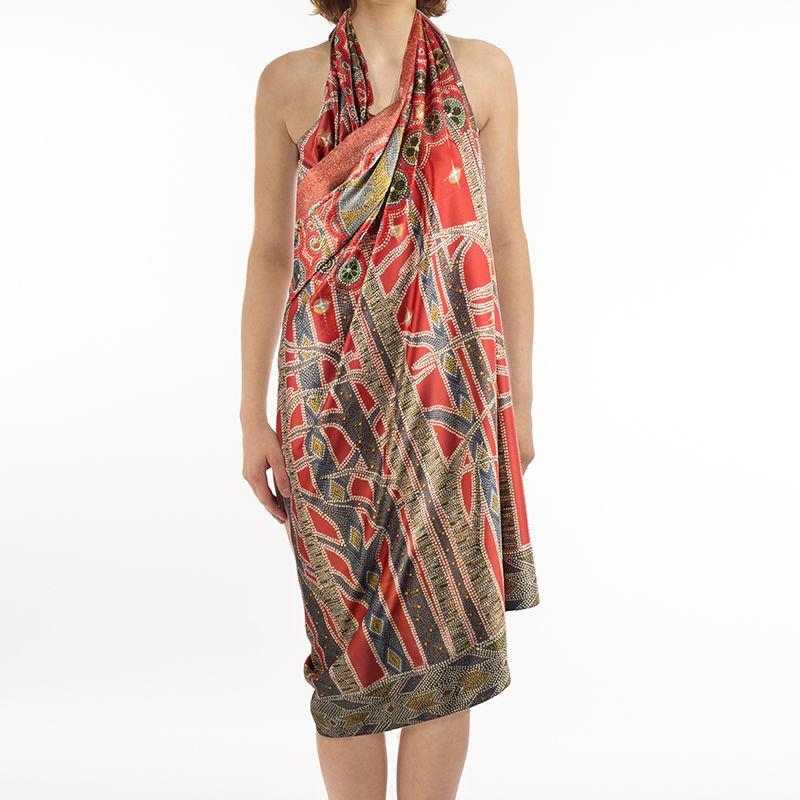 Custom Printed Sarongs Personalized Pareo Or Custom Sarongs