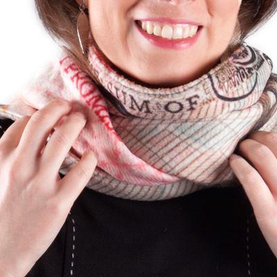 Schal selbst gestalten