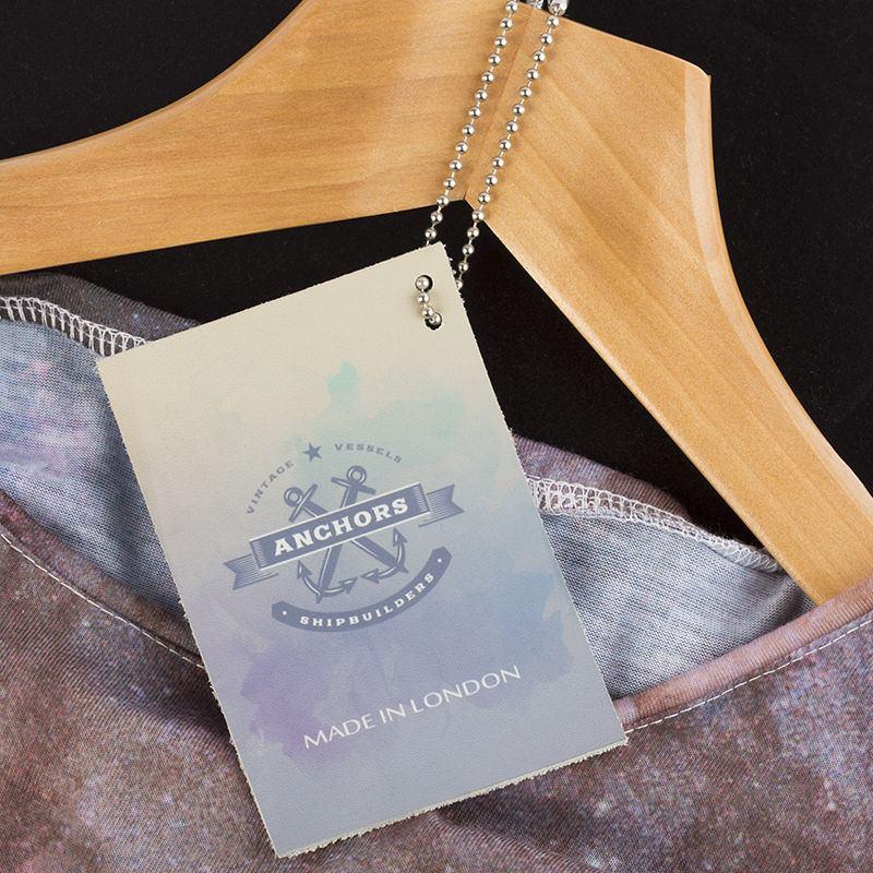 étiquettes personnalisées en cuir