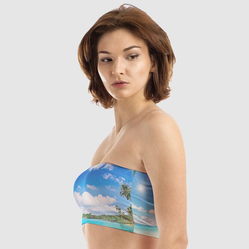 personalised bandeau top