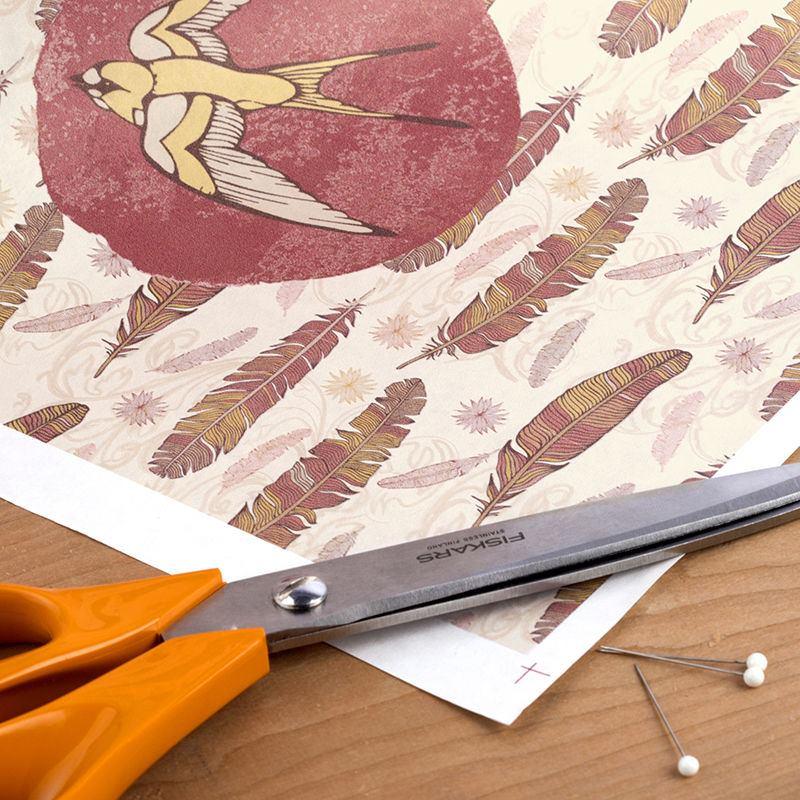carta per stampa su tessuto