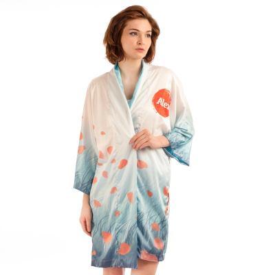 Kimono med eget tryck