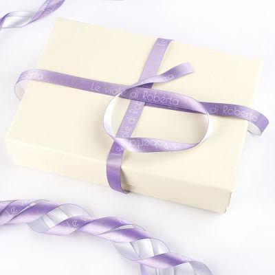 bedrukt cadeau lint