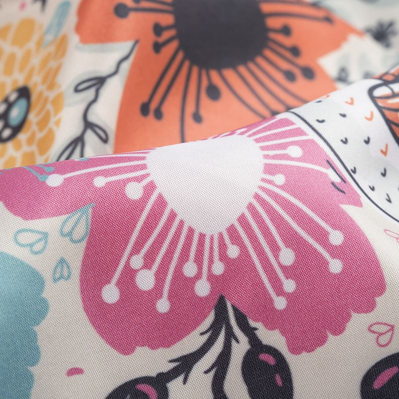 Synthetic silk print your own design