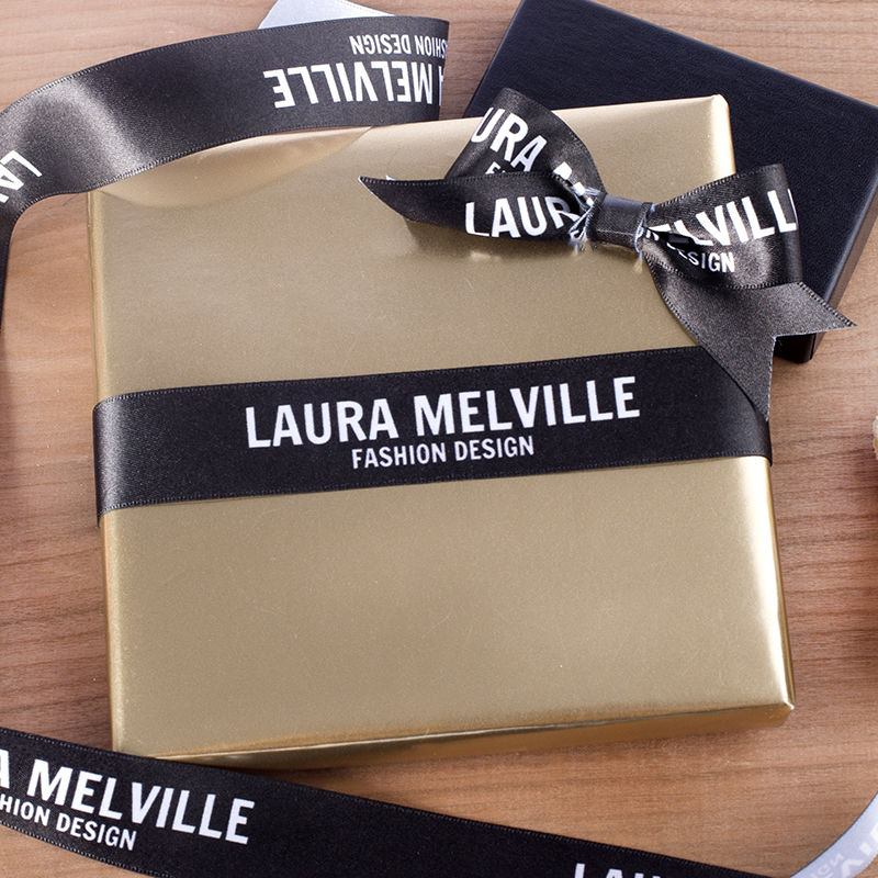 Personalised Wedding Gift Ribbon : Personalised Printed Ribbon. Custom Ribbon No Minimum - Bags Of Love