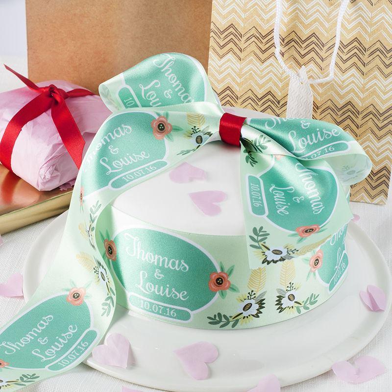 Wedding Cake Wrapped ribbon
