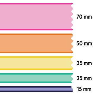 Dimensions du ruban à personnaliser