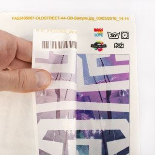 peeling heat sublimation paper