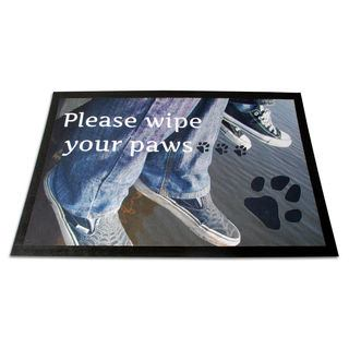 personalised door mats with text