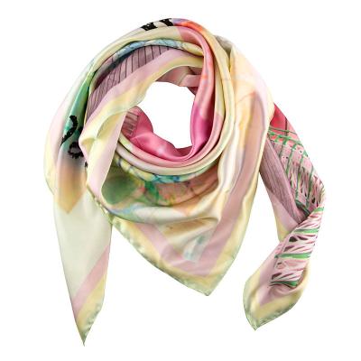 fular de seda accesorio de mujer