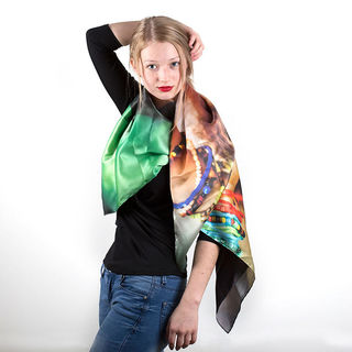 Grand foulard personnalisé