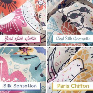 foulard soie naturelle