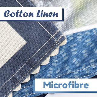 Baumwolle Leinen Geschirrtuch bedrucken lassen mit deinem Design Firma Name