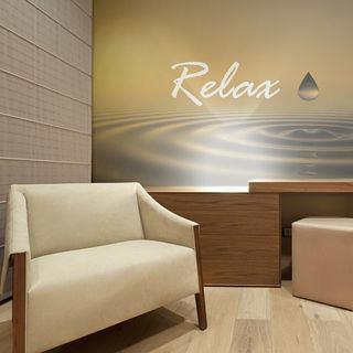 Print Wallpaper soft matt effect spa relaxation