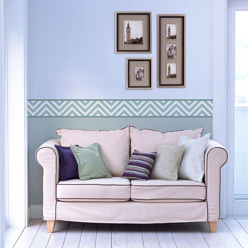 Make your own wall border wallpaper borders custom made for Wall borders for living room