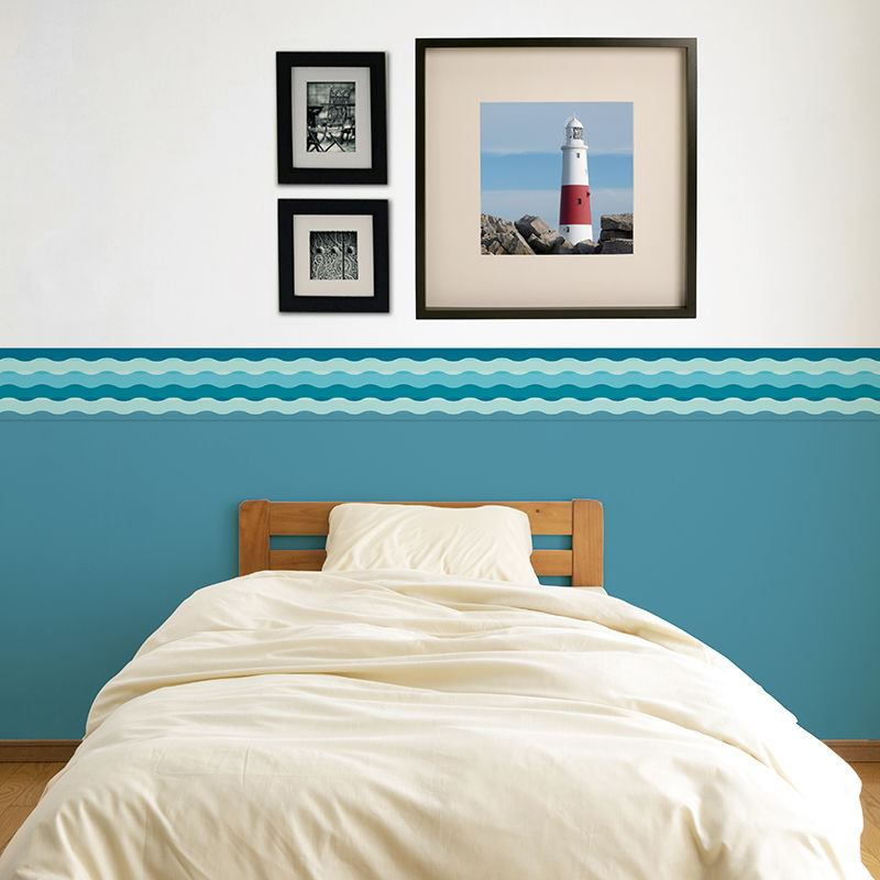 wallpaper borders for bedrooms custom wallpaper borders personalized your photo wall 17767