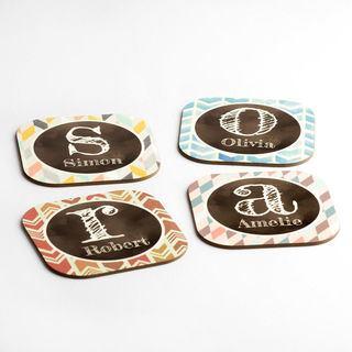 Personalised names coasters designs